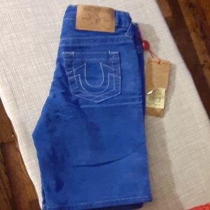 SIZE 6 TODDLER TRUE RELIGION SHORTS